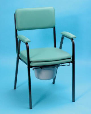 Standard Commodes padded commode chairs UK