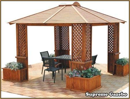Supreme garden gazebo gazebos UK